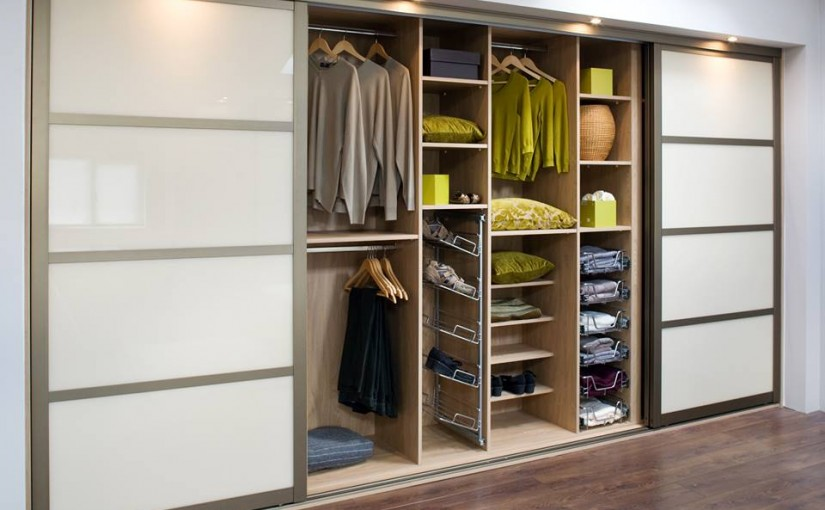 Save space with a built in or fitted wardrobe